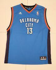 Adidas James Harden Oklahoma City Thunder NBA Basketball Jersey Youth Size XL