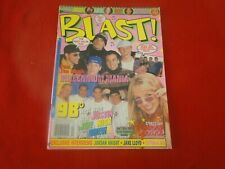 Vintage Pop Teen Rock Magazine Blast 1999 98 Degrees Britney Spears 'N Sync G5