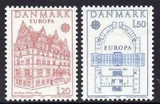 DENMARK MNH 1978  EUROPA Stamps - Buildings
