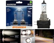 Sylvania Silverstar H11B 55W Two Bulbs Head Light Low Beam Replacement Upgrade