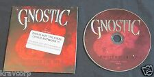 GNOSTIC 'ENGINEERING THE RULE' 2009 PROMO CD