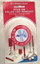 FOX RUN Old Craftsman Brand STICK-UM Candle Adhesive
