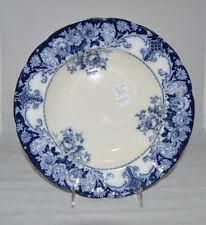 Belmont Flow Blue Soup Plate 10 inches - JHW & Sons Hanley England      #SP1