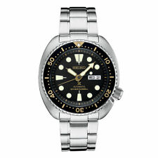 NEW Seiko SRP775 Turtle Men's 45mm Case Stainless Steel Black Dial Watch