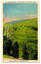 1940 McMahon Bowl, End of Gore Mountain Ski Trail, North Creek, NY Postcard
