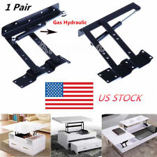 1 Pair Lift Up Top Table Frame Lifting Mechanism Gas Hydraulic Pneumatic Hinge