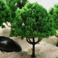 HO Scale Model Trees Train Railway Park Street Buildings Scenery Layout 20Pcs