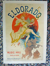 JULES CHERET - Original Vintage Poster -  Eldorado - 1894