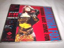SAMANTHA FOX-I WANNA HAVE SOME FUN-JIVE 32XB-301 JAPAN +OBI NEAR MINT CD