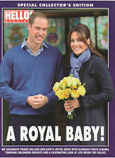 PRINCE WILLIAM & KATE A ROYAL BABY! SPECIAL EDITION HELLO! CANADA 2012 CANADIAN