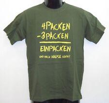 Fun T-Shirt *  ...4 Packen ...bedruckt
