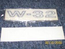 1969 OLDSMOBILE 442 W32 W-32 FRONT FENDER DECALS