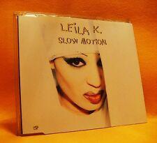 MAXI Single CD Leila K. Slow Motion 3TR 1993 (MINT) Dub, Downtempo, Euro House