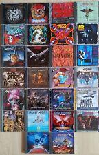 CD Sammlung Heavy Metal Iron Maiden, Judas Priest, Saxon, Mötley Crüe... 26 CD´s