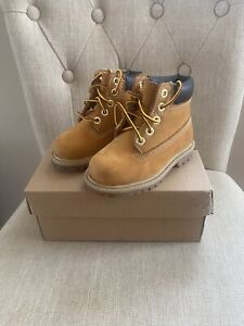 Baby Boy Girl Infant Timberland Boots Size 5