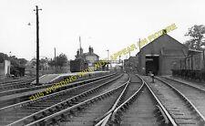 Saxmundham Railway Station Photo. Wickham Market to Darsham and Aldeburgh. (8)