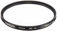 MARUMI Camera Filter Close-up Lens MC + 4 77mm For Close-up Shooting NEW