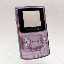 Nuevo claro (Atomic Morado) Nintendo Game Boy Color Gbc caso/Shell/vivienda y herramientas