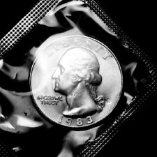1983 D  Washington Brilliant Uncirculated Quarter ~ From Souvenir Mint Set