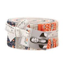 """Moda FABRIC Jelly Roll ~ SWEET MARION ~ by April Rosenthal 40 - 2 1/2"""" Strips"""