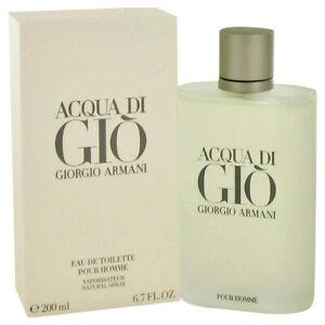 Acqua di Gio EDT for Men by Giorgio Armani, HUGE 200ml Spray