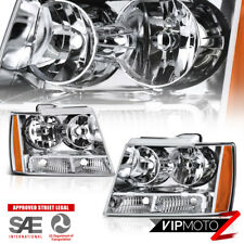 """2007-2014 Chevrolet Tahoe Avalanche Suburban """"FACTORY STYLE"""" Front Head Lights"""