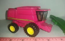 1/64 ERTL custom John deere 9860 PINK combine WITH SPARKLES! farm toy
