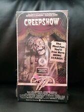 Creepshow on VHS, Horror movie sealed. George A. Romero, Stephen King
