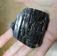 TOURMALINE BLACK MICA QUARTZ LARGE CRYSTAL Luck Happiness  20- 50mm