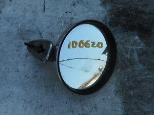 PORSCHE 901 911 912 T E S L LARGE ROUND CHROME DOOR MIRROR 911T 911E 911S 911L