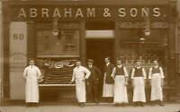Slough. R.Abraham & Sons Shop Front. 80 High Street.