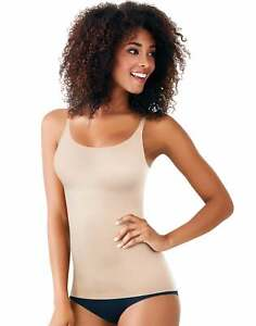 Maidenform Cover Your Bases Camisole Shapewear Top Cool Comfort Smoothtec Womens