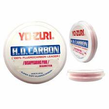 2 Packs Yo-Zuri H.D. 60lb Carbon Fluorocarbon Pink 60Yds total 2 spools of 30lb