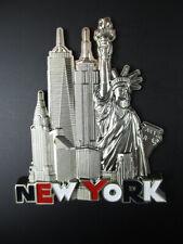 New York Metall Magnet,Freiheitsstatue,Empire,Chrysler,World Trade no 1