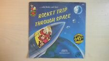 Cricket Records with Bobby & Jane ROCKET TRIP THROUGH SPACE 45rpm EP 60s