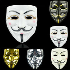 Kids Anonymous Hacker Christmas V For Vendetta Guy Face Mask Child Adults Unisex