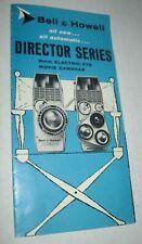 Vintage Bell & Howell Director Series Movie Camera Brochure Zapruder JFK Model