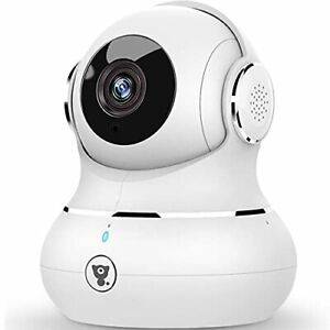 YI Dome Camera HD with Pan-tilt-zoom Night Vision Motion Detection (Ref- C15)