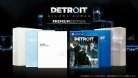 PS4 Detroit: Become Human Premium Edition Japan Ver. Sony PlayStation 4 USED