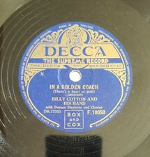 Original UK 78rpm, In A Golden Coach (There's A Heart Of Gold) by Billy Cotton