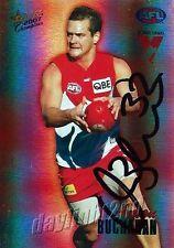 ✺Signed✺ 2007 SYDNEY SWANS AFL Card AMON BUCHANAN