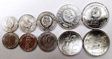 KOREA 1 5 10  50 Chon 1 Won 5 COINS SET(STOCK PICTURE RANDOM YEAR ) UNC