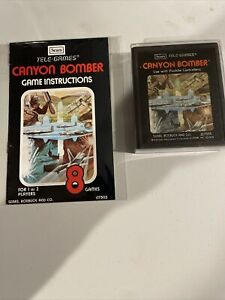 Atari 2600 Sears Tele-games (Canyon Bomber Picture Label)