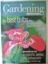 Gardening Which? Magazine. March, 2000. The best bulbs for summer. Perenials on
