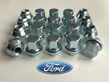 20 x Ford Mondeo Alloy Wheel Nuts, M12 x 1.5, OE Style (Silver)
