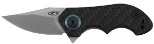 Zero Tolerance Frame Lock Knife Carbon fiber and Titanium 20CV ZT 0022
