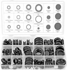 RUBBER GROMMETS BLANKING CLOSED OR OPEN BLIND SET OF ASSORTED SIZES 125pc WIRING