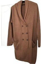Blacky Dress Berlin Jumper Dress Camel Wool Ladies Size 14/16