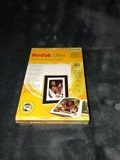 NEW Kodak Ultra Premium Photo Paper High Gloss 60 Sheets 10 x 15 cm 4 x 6 inches