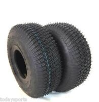 TWO 11x4.00-4 11x4-4 Turf Lawn Mower Go Kart  TIRES 4 PLY RATED